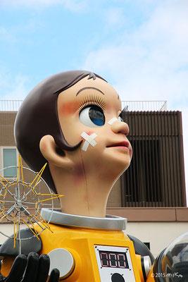 サン・チャイルドの顔