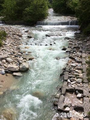 安曇野を流れる川