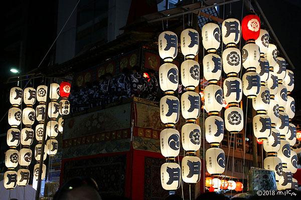 月鉾(前祭宵山)