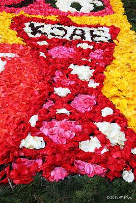 花の神戸ポートタワー(介護予防ひろめて委員会)(インフィオラータこうべ2015三宮東)