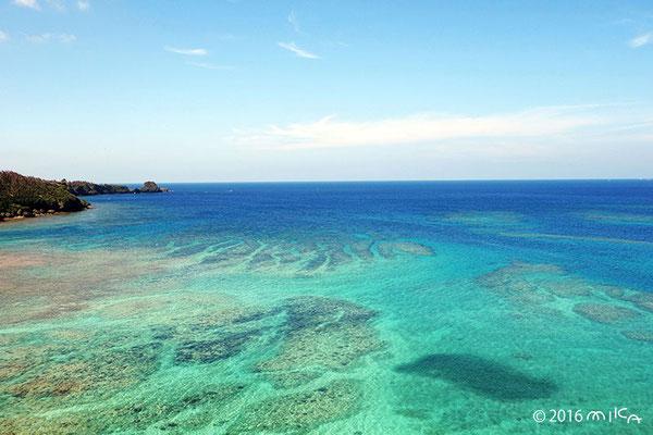 珊瑚礁の海(恩納村/沖縄)