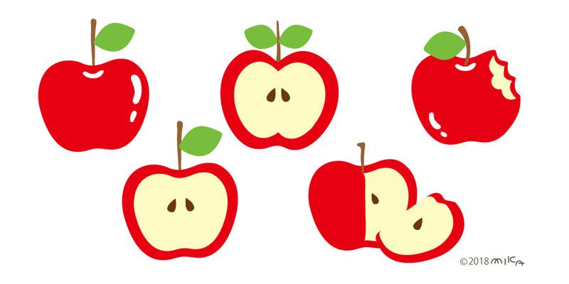 いろいろりんご
