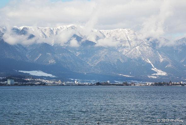 雪の比叡山(2017年1月末)