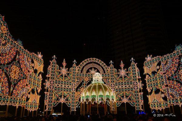 カッサ・アルモニカ「光のカッサ・アルモニカ」① 神戸ルミナリエ2014