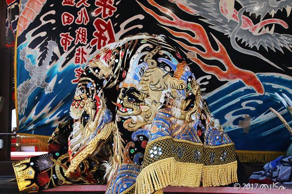 衣装(松尾大社節分祭2017年より)