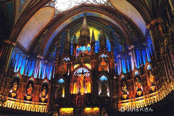 モントリオール・ノートルダム聖堂(カナダ・ケベック州モントリオール)大阪府Kさん