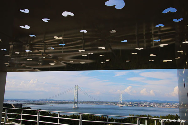 神戸淡路鳴門自動車道/淡路サービスエリア(恋人の聖地)