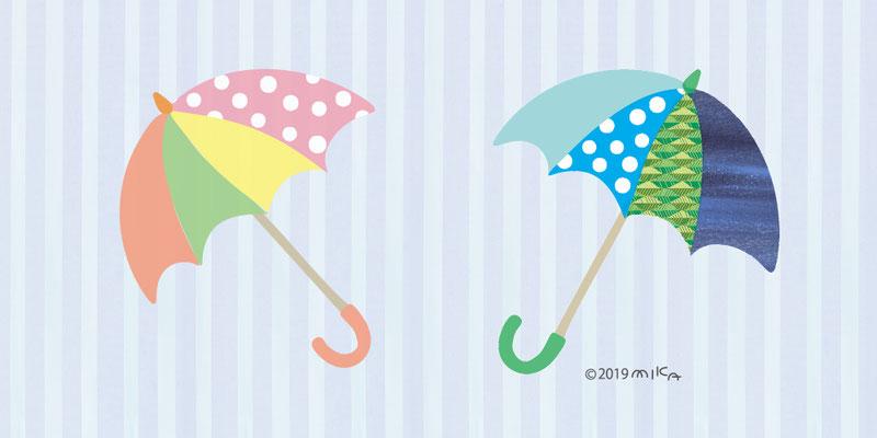 かさ(梅雨入り)