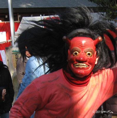赤鬼(吉田神社)