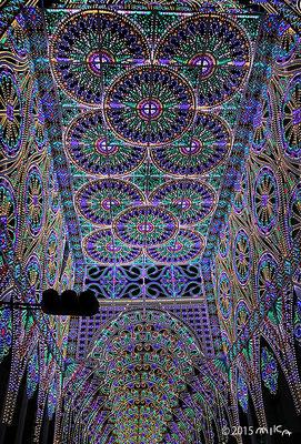 フロントーネ「栄光への扉」②(神戸ルミナリエ2015年