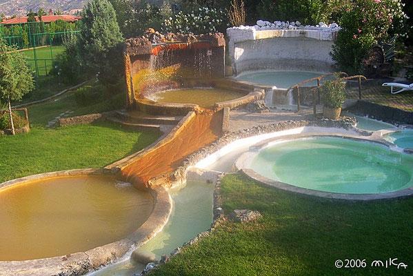 コロッセア テルマルホテルの温泉プール