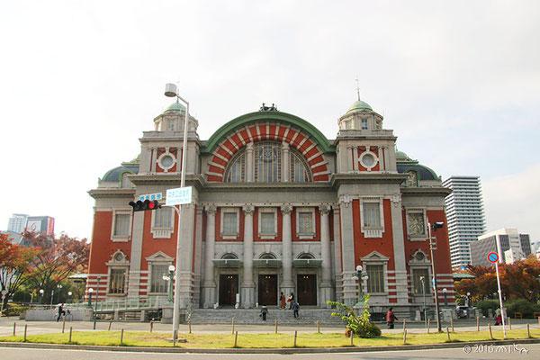大阪市中央公会堂①(11月)