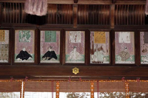 舞殿(平野神社)