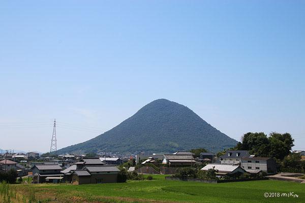 讃岐富士(水田より)