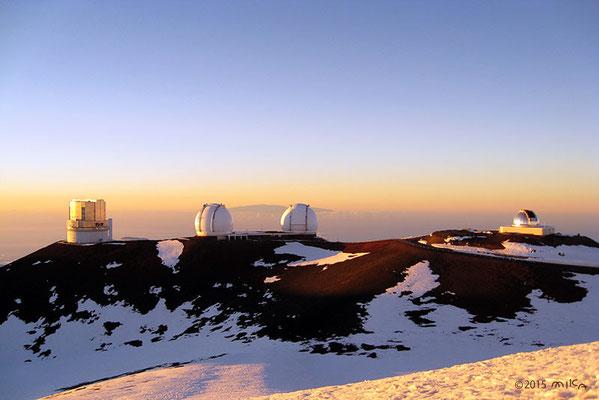 マウナ・ケア天文台群(ハワイ島)