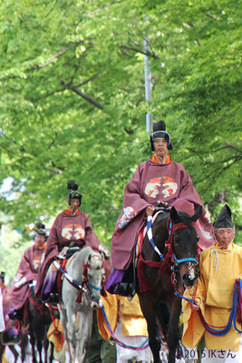 葵祭の行列(大阪府IKさん)