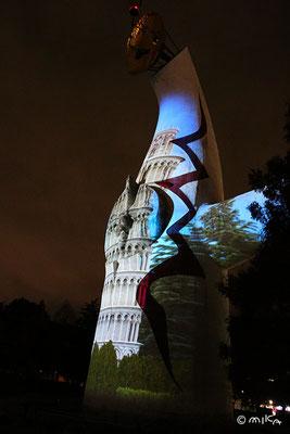 ピサの斜塔(イルミナイト万博2015年)