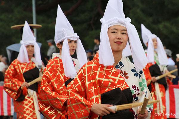 側踊り(室町洛中風俗列)