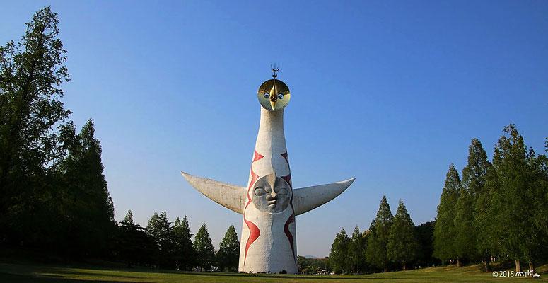 太陽の塔(5月)