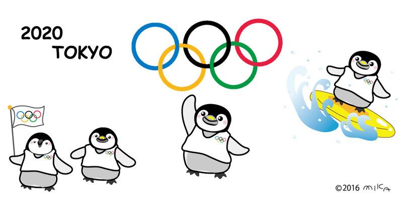 オリンピックのペンギンたち