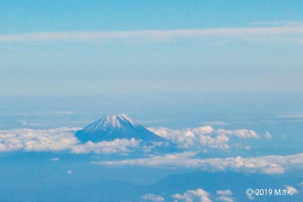 空からの富士山(大阪府Mさん)