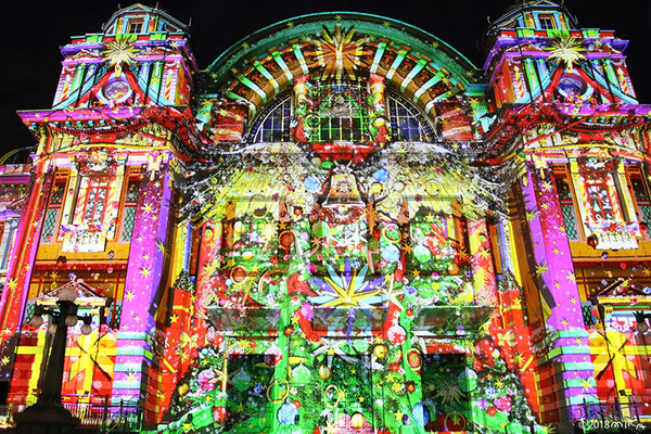 クリスマスツリー(大阪光のルネサンスウォールタペストリー/2018年)