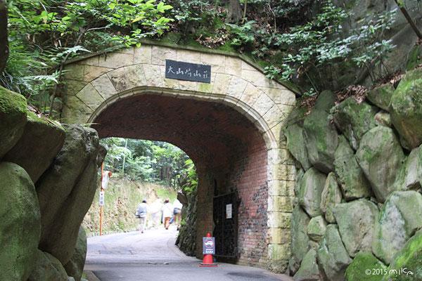 琅玕洞 (ろうかんどう)[トンネル]アサヒビール大山崎山荘美術館