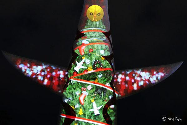 クリスマスツリー(イルミナイト万博2012年より)