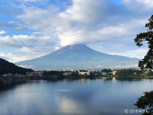 夏の富士山(大阪府Kさん)