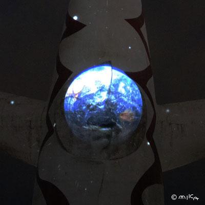 青い地球(イルミナイト万博2012年)