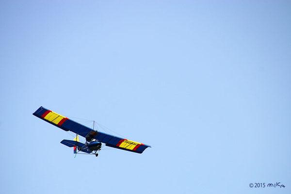 小形の飛行機①