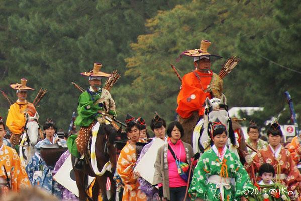 城南流鏑馬列(鎌倉時代)