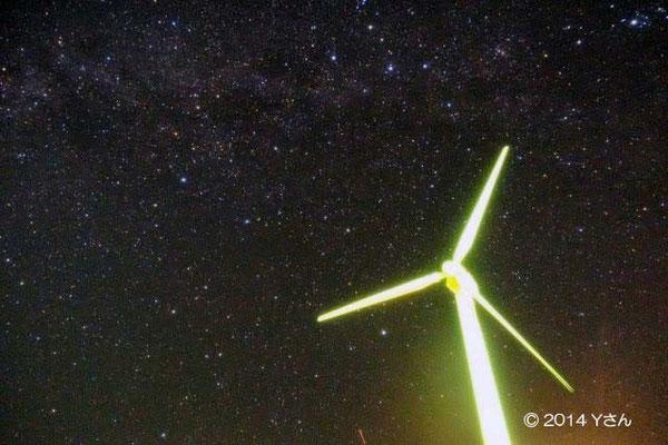 残波岬よりアンドロメダ銀河2(奈良のYさん)