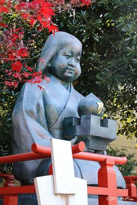 おかめ塚(千本釈迦堂)