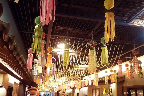 笹飾り(新梅田シティ滝見小路)