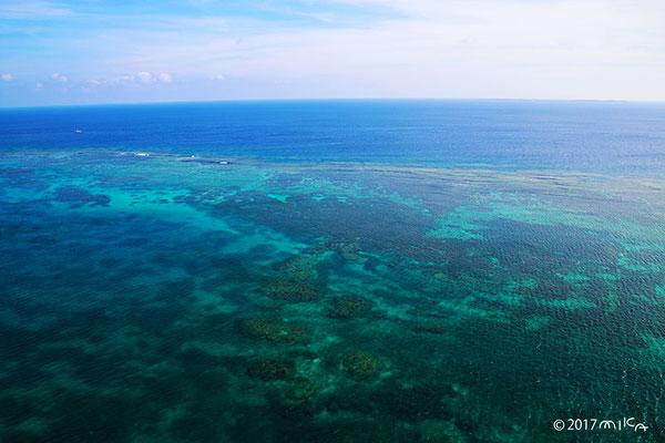 伊良部島から見渡す海