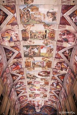天井画「天地創造」大塚国際美術館システィーナ・ホール