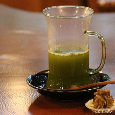 あったかい日本茶