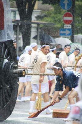菊水鉾の曳方