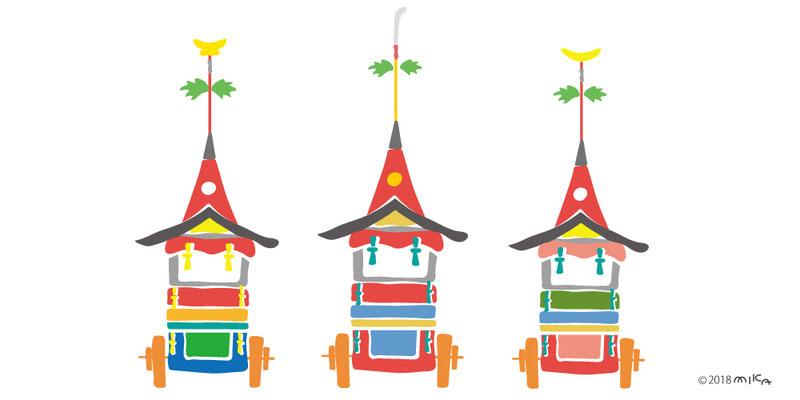 祇園祭の鉾