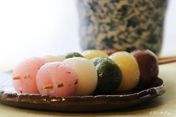 花見団子(五色)