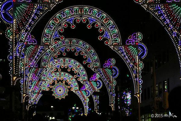 ガレリア「輝きの間」(神戸ルミナリエ2015年)