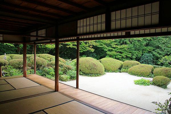 詩仙堂の庭園④