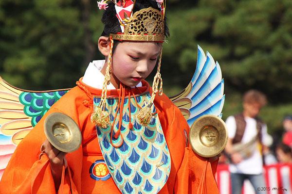 迦陵頻迦(かりょうびんか/神饌講社列)
