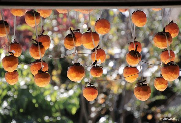 のき下の干し柿