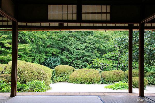 詩仙堂の庭園③
