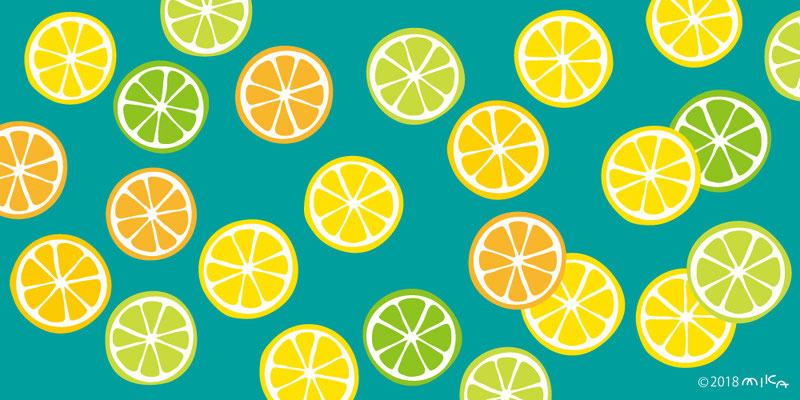 たくさん柑橘類