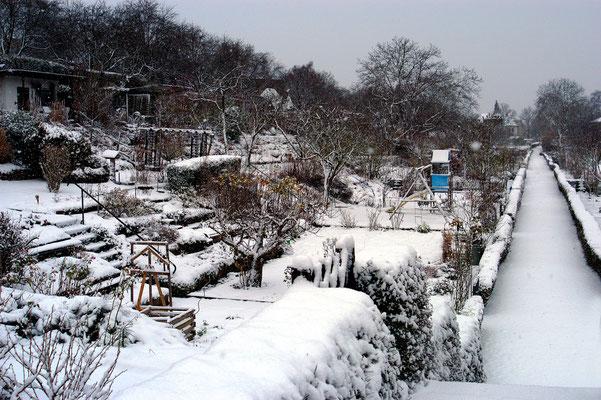 Kurzer Wintereinbruch Anfang Dezember Foto: Sandra Borchers