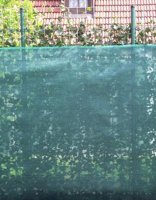 Schattierungstuch - Mobilane Fertighecke® - Pflanzfertige Heckenelemente - Fertiger Sichtschutz - Garten Bronder©
