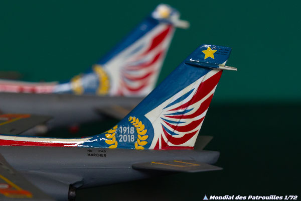 Alphajet Solo Display Maquette 1/72